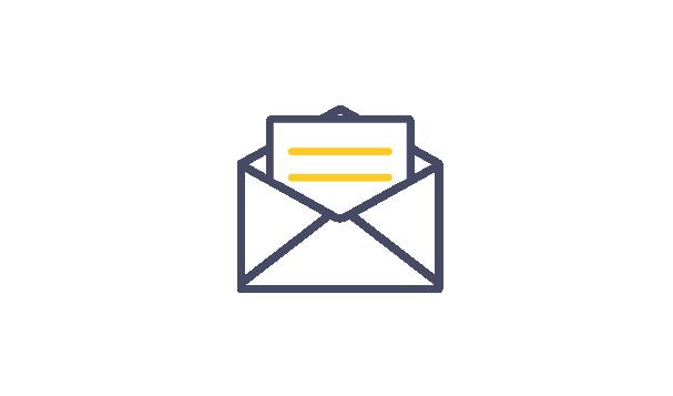 来訪メール通知指定のイメージ